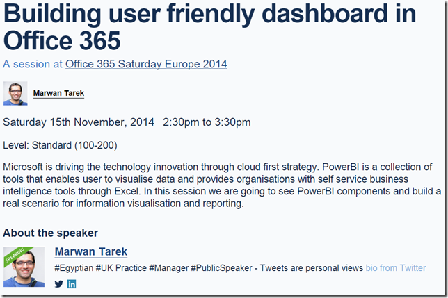Office365Saturday 2014